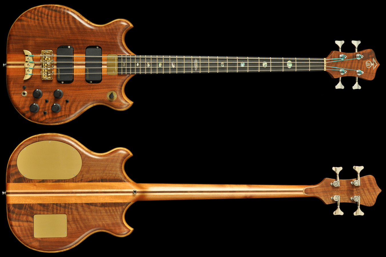 Alembic Brown Bass **Archive** , High End Bass Guitars ...