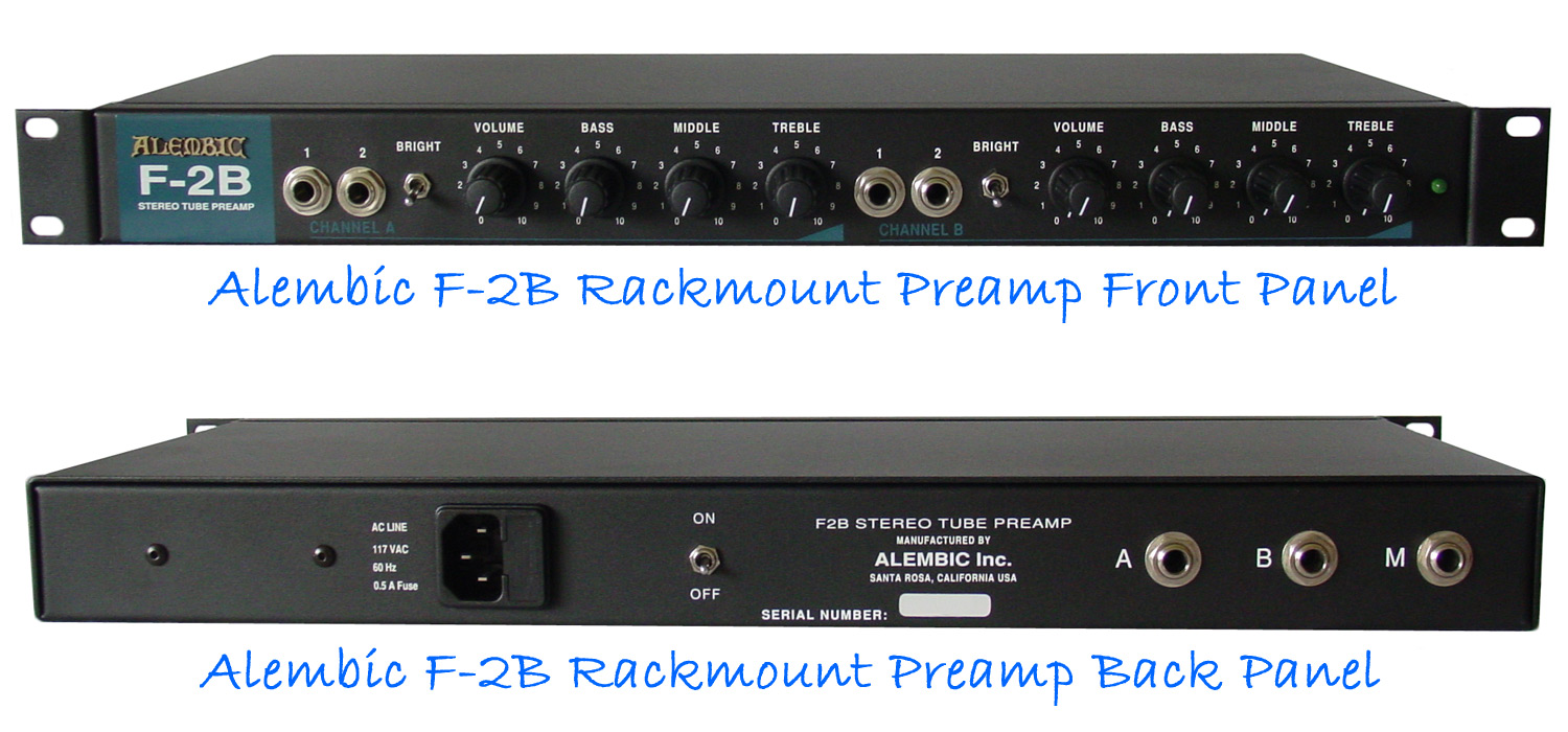 alembic f 2b preamp high end bass guitars amps bass strings. Black Bedroom Furniture Sets. Home Design Ideas