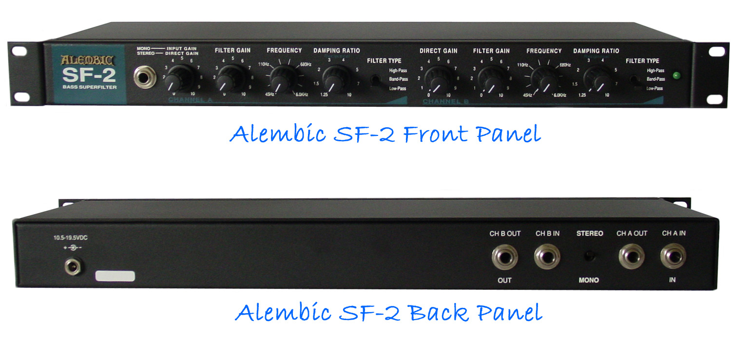 Alembic Sf 2 High End Bass Guitars Amps Amp Bass Strings