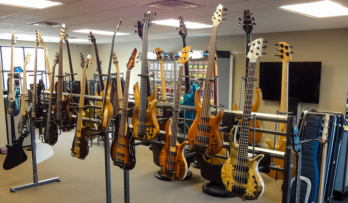 Contact Planet Bass to visit our show room