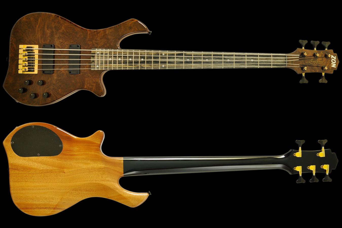 Zon Bass Legacy Elite 4 Walnut , High End Bass Guitars