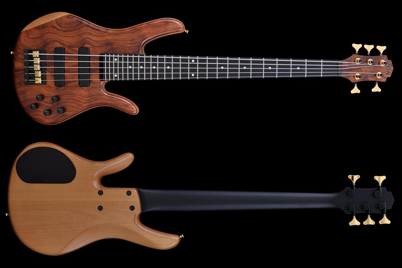 Zon Mosaic Mojo PJ Passive Review | Premier Guitar