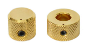 Concentric Gold Stacked Knobs
