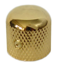 Knob Gold Dome Style